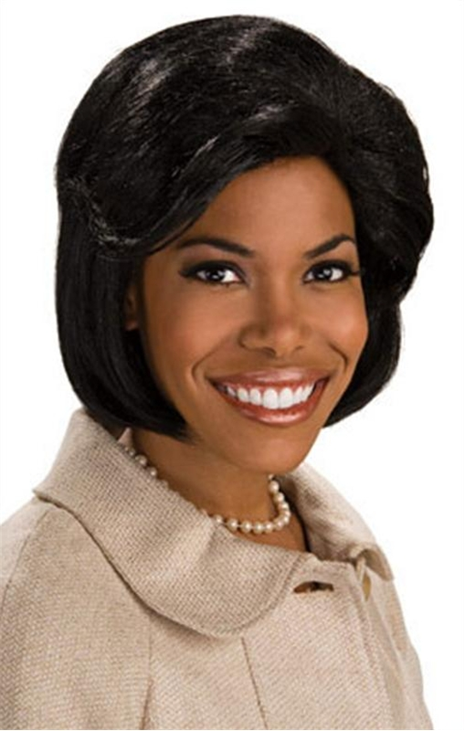 First Lady Michelle Obama Adult Wig