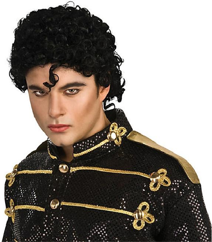 Michael Jackson Thriller Adult Wig