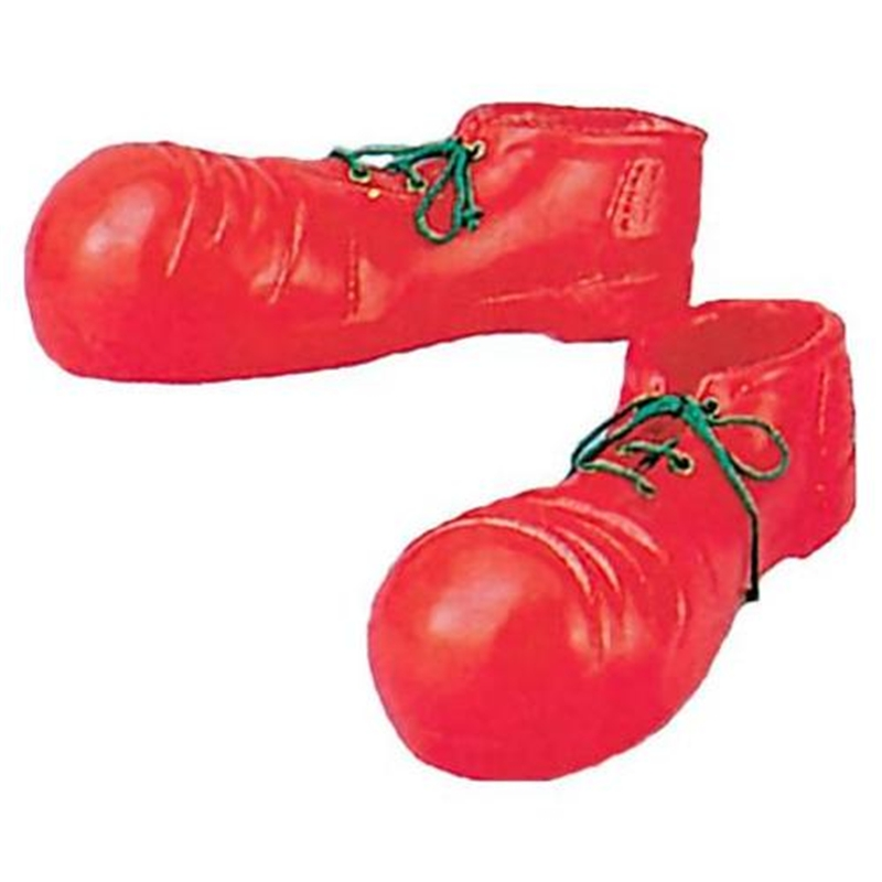 Jumbo Red Clown Shoes