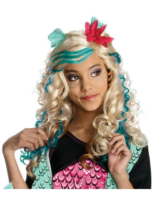 Monster High Lagoona Blue Child Wig