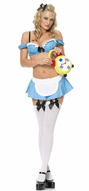 Alice in Wonderland Extra Sassy Costume