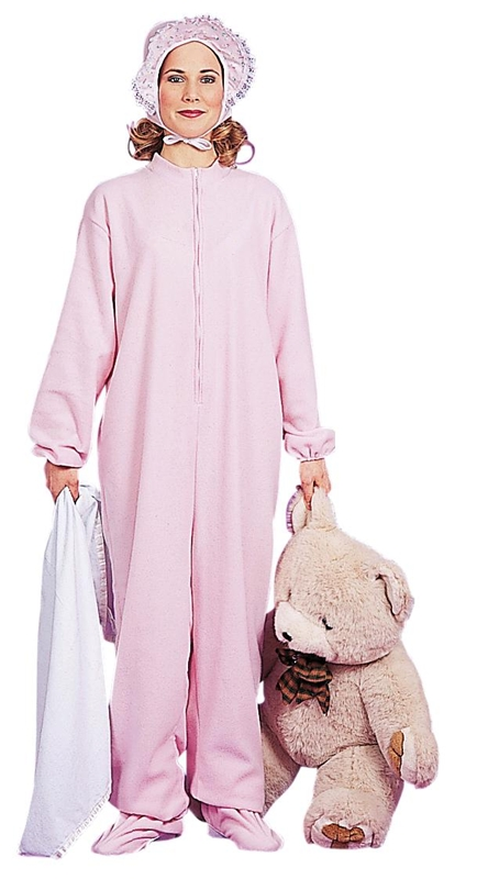 Jammies Pink Adult Costume