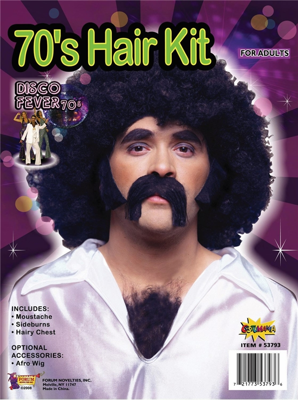 70's Disco Man Kit by Forum Novelties