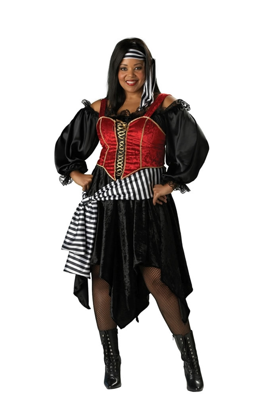 Pirate Lady Plus Size Costume  sc 1 st  Halloween Ideas For Women & Plus Size Pirate Costume For Women