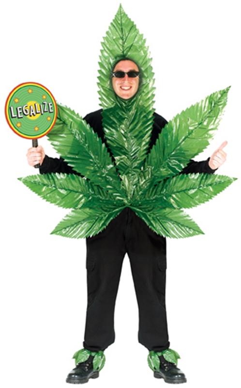 Ganja Leaf Adult Costume