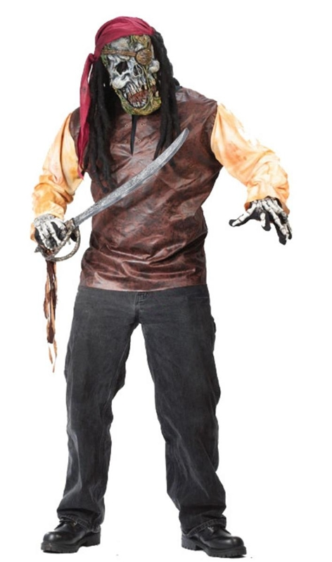 Pirate Skeleton Adult Costume
