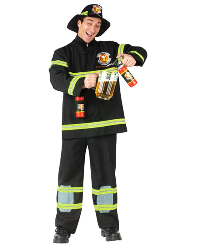 Party Fireman Adult Costume by Fun World