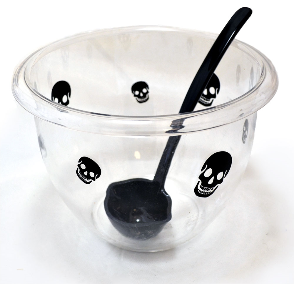 Image of Punch Bowl with Ladle