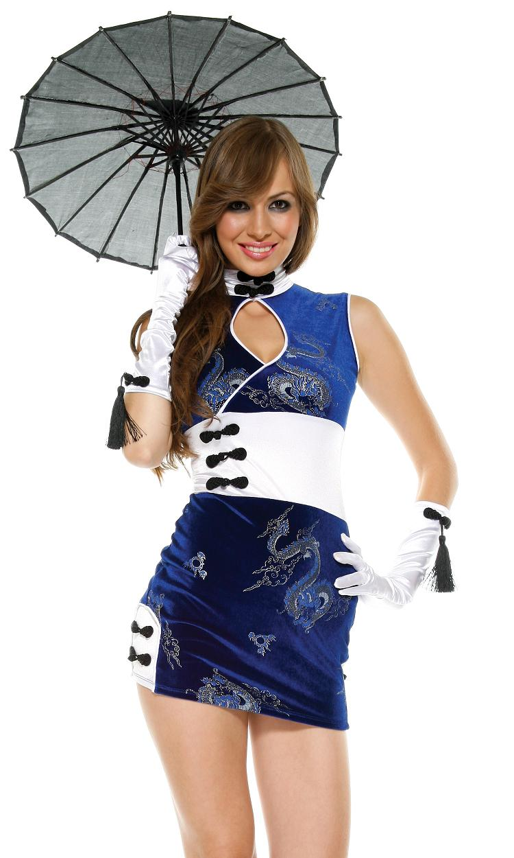 China Doll Adult Womens Costume