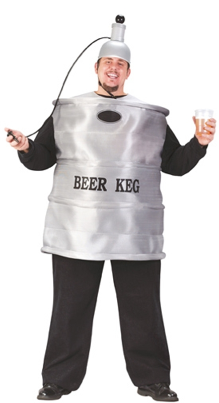 Beer Keg Plug Size Adult Mens Costume