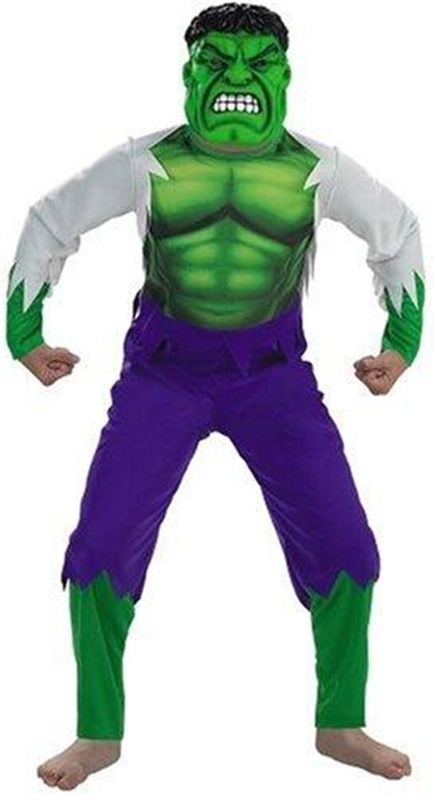 Marvel Deluxe Hulk Child Costume