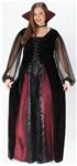 Goth Maiden Vamp Plus Size Costume