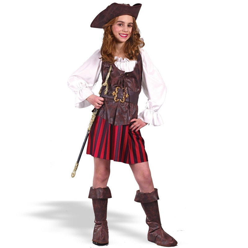 High Seas Pirate Buccaneer Child Costume