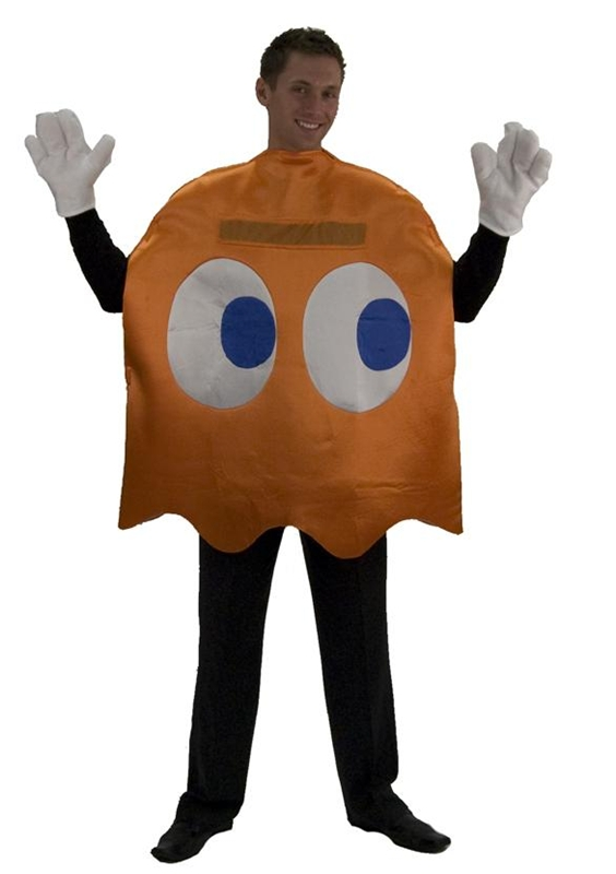 Image of Pac-Man Clyde Deluxe Adult Costume