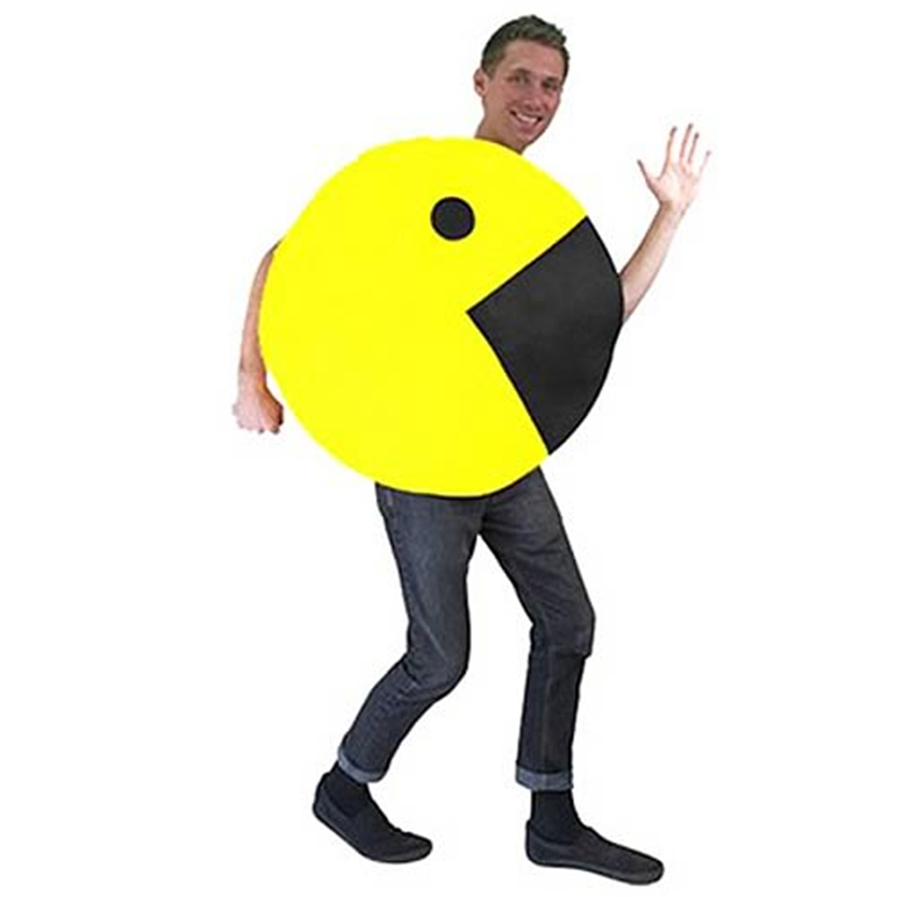 Pac-Man 2D Profile Men Costume
