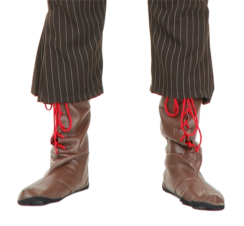 Mad Hatter Adult Boot Covers