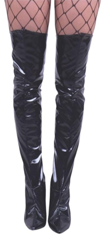 Thigh High Vinyl Boot Covers