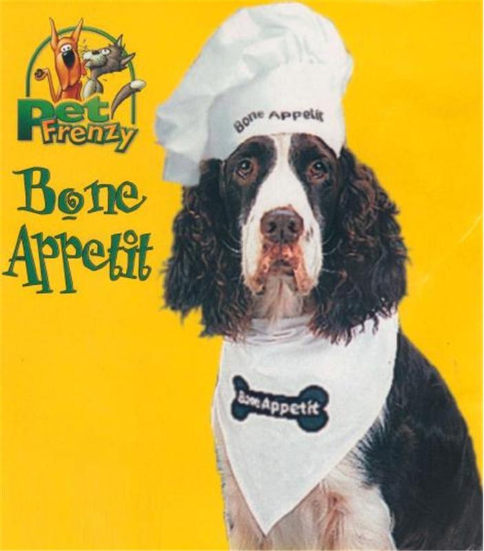 Image of Bon Appetit Pet Costume