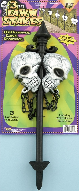 Skull Stakes by Forum Novelties