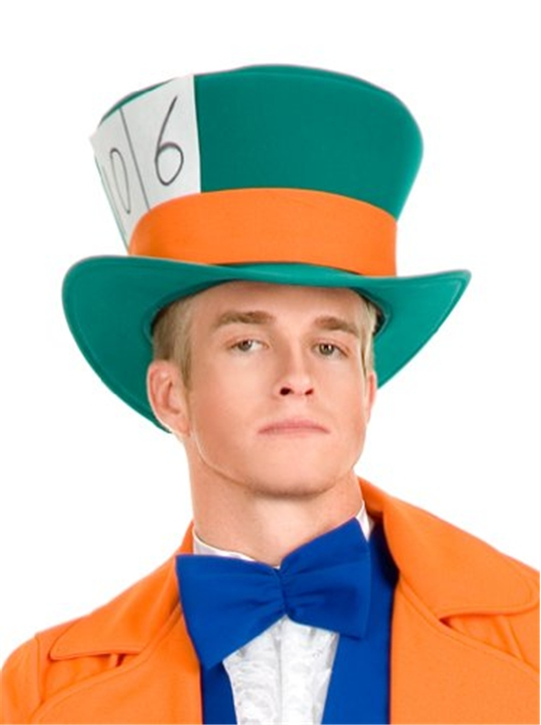 Electric Mad Hatter Adult Hat
