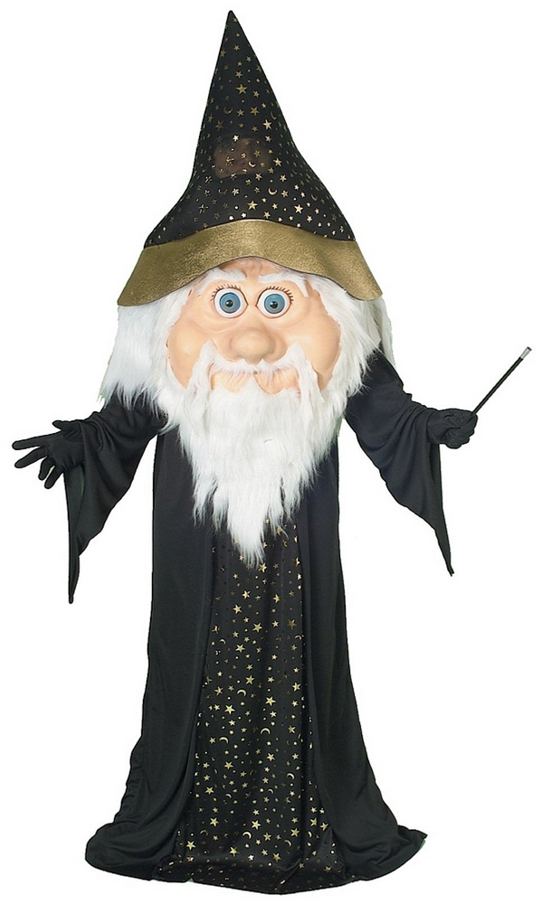 Wizard Mascot Adult Mens Costume