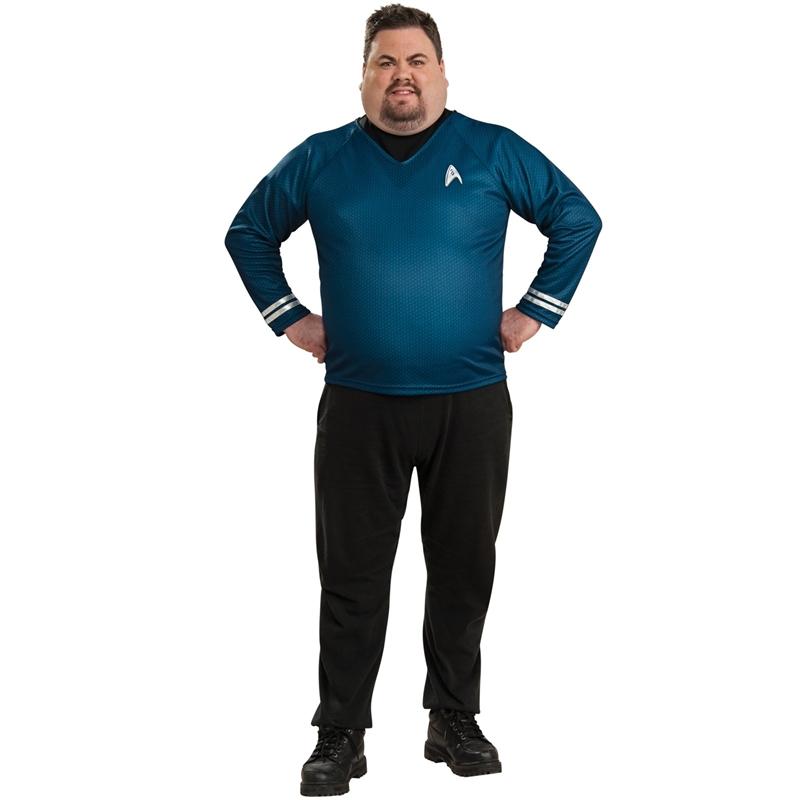 Star Trek Movie Spock Shirt Plus Size Costume
