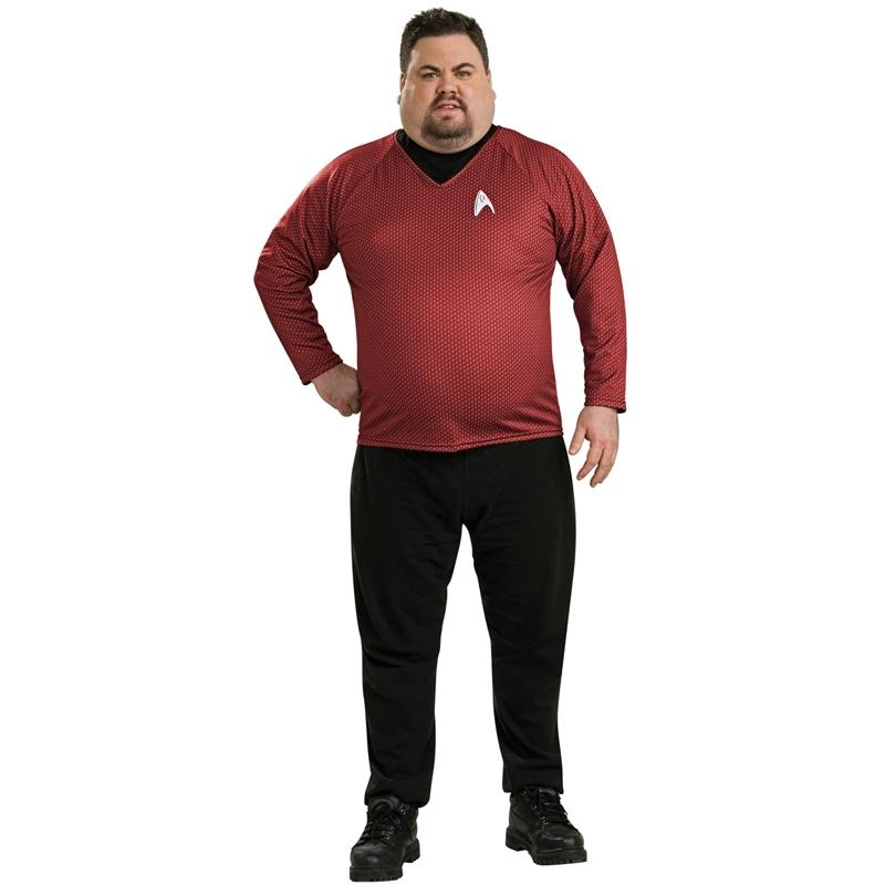 Star Trek Movie Deluxe Engineering Shirt Plus Size Costume