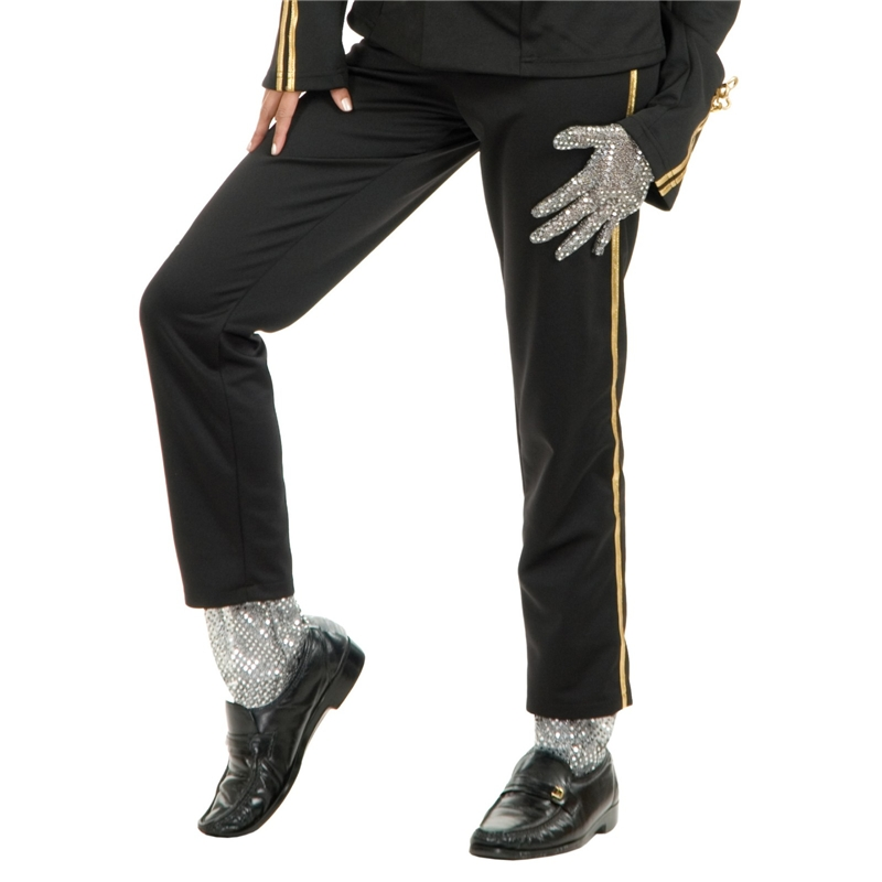 Michael Jackson Sequin Glove and Leggings by Charades