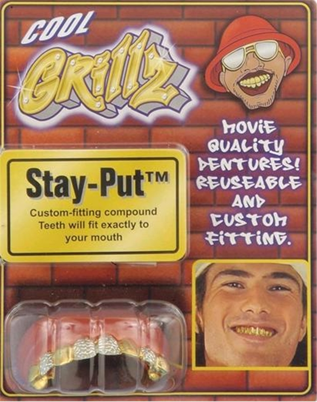 Grillz Gold Diamond Teeth