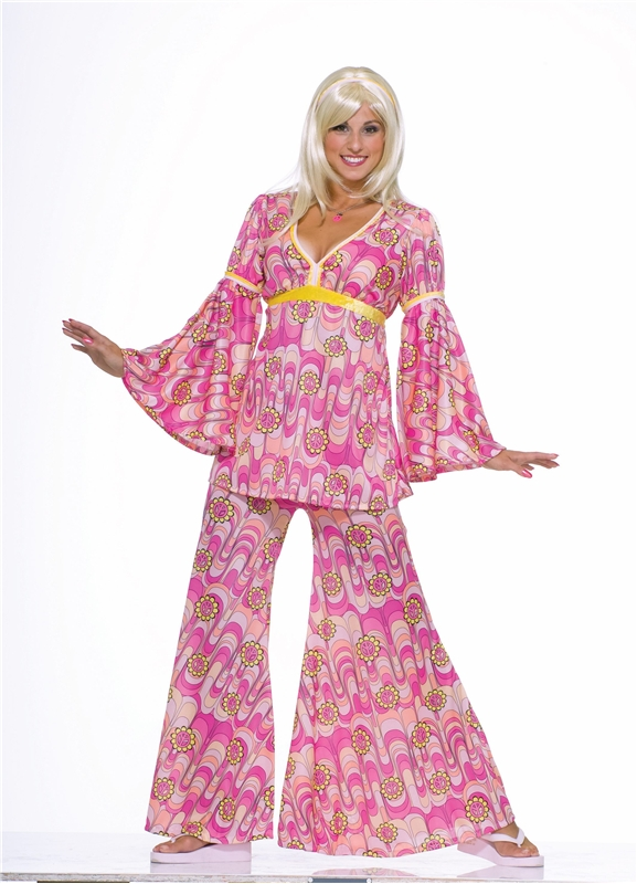 Flower Power Hippie Adult Womens Costume