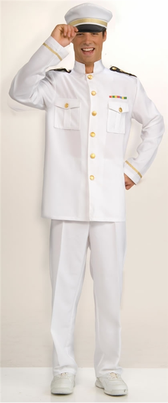 Captain Cruise Adult Costume