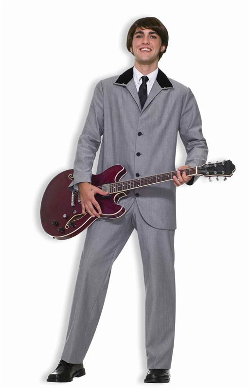 Beatles British Invasion Suit Adult Costume