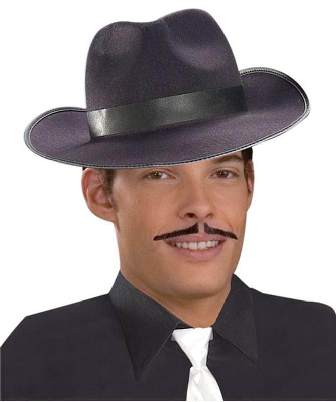 Black Gangster Moustache (Ships for $1.99)