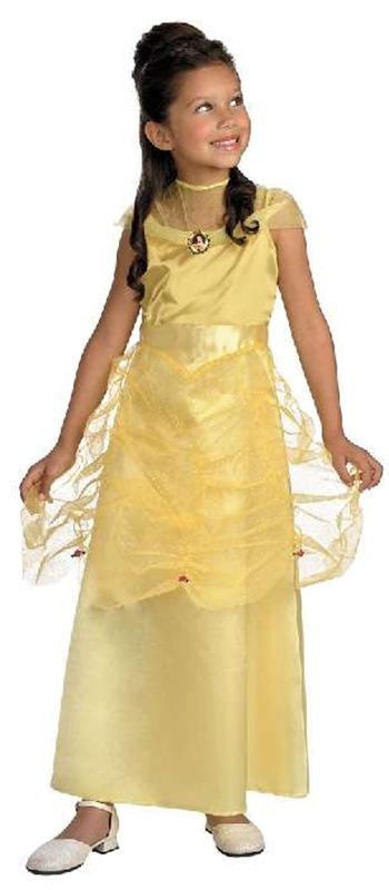 Beauty & The Beast Belle Quality Child Costume ()