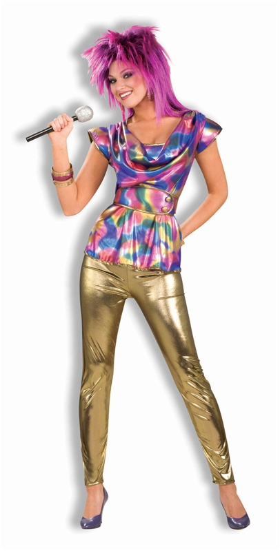 80s Video Star Adult Costume