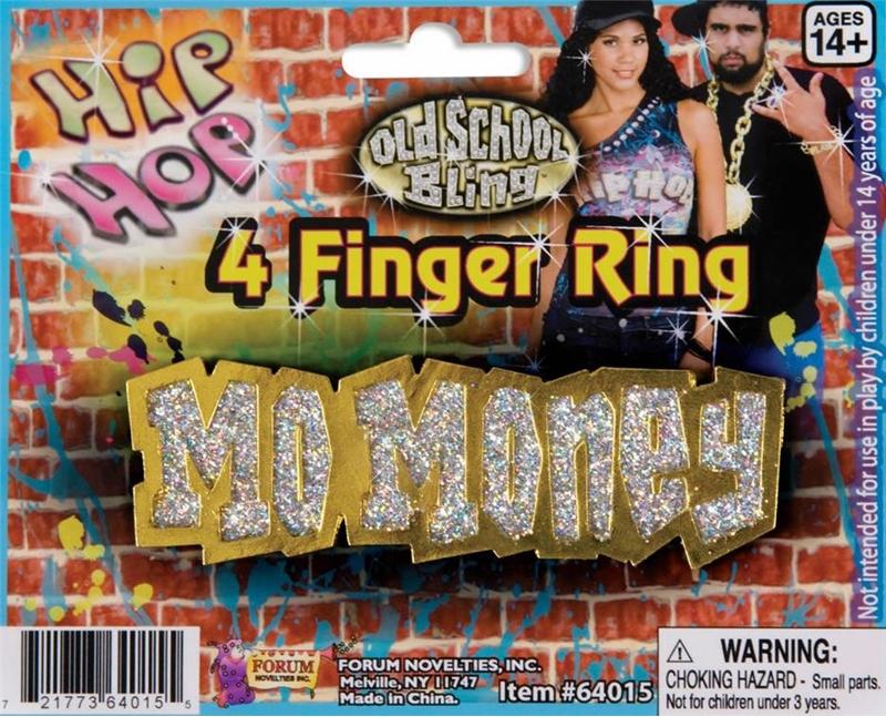 Hip Hop Mo Money 4 Finger Ring