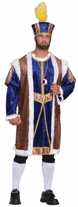 Henry the Eighth Adult Mens Plus Size Costume