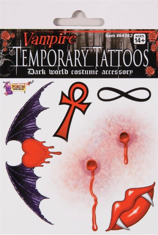 Vampire Tattoo by Forum Novelties