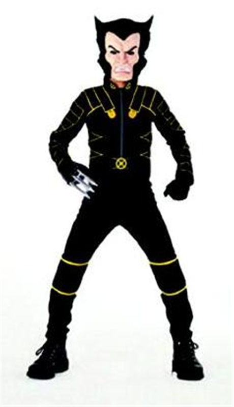 X-Men Wolverine Quality Muscle Child Costume
