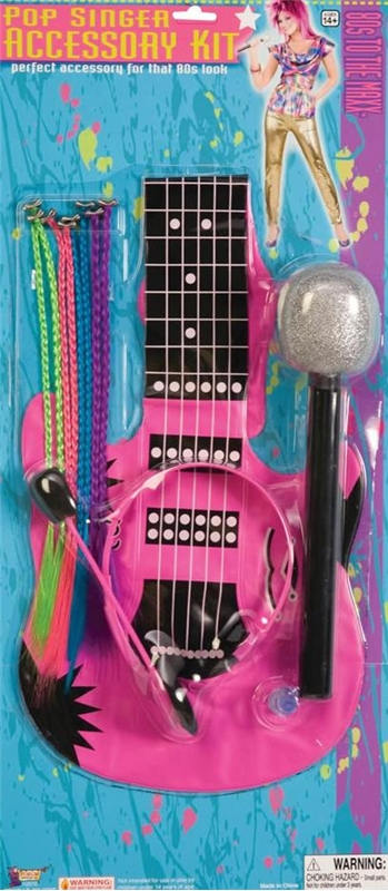 80s Pop Singer Accessory Kit