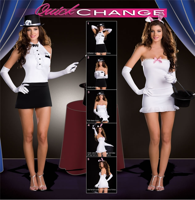 Magician Rabbit Changers 5pc Costume