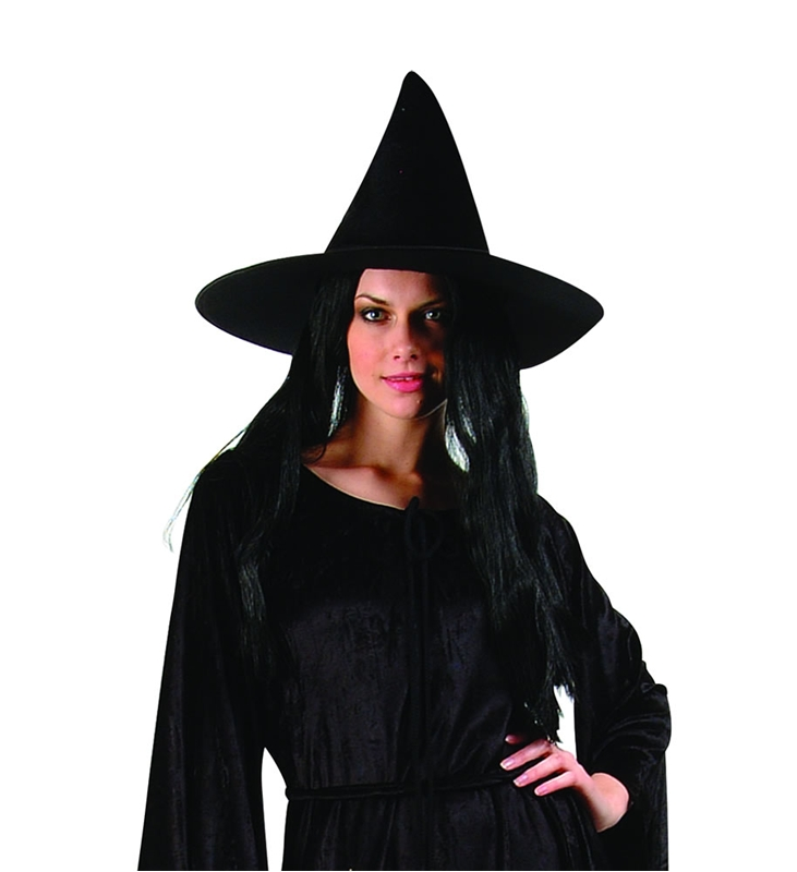Satin Witch Adult Hat