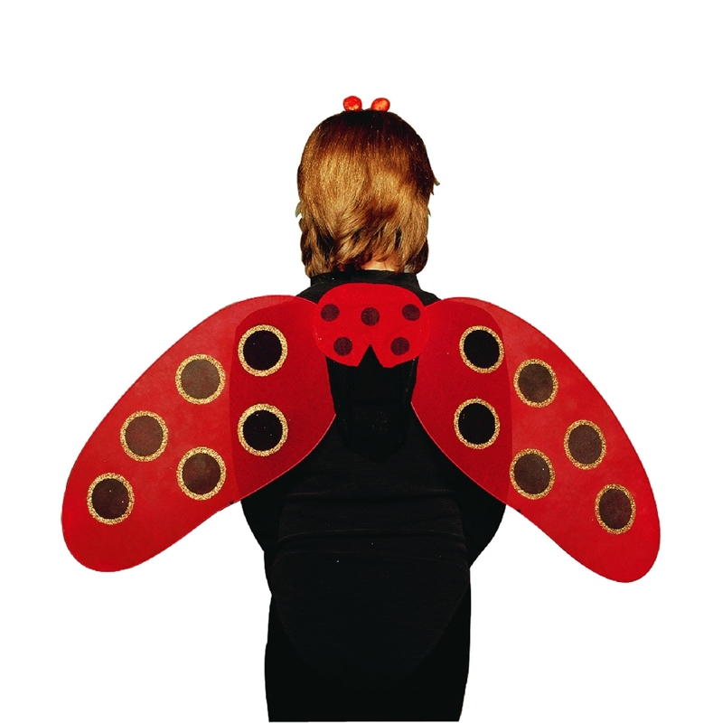 Lady Bug Adult Wings