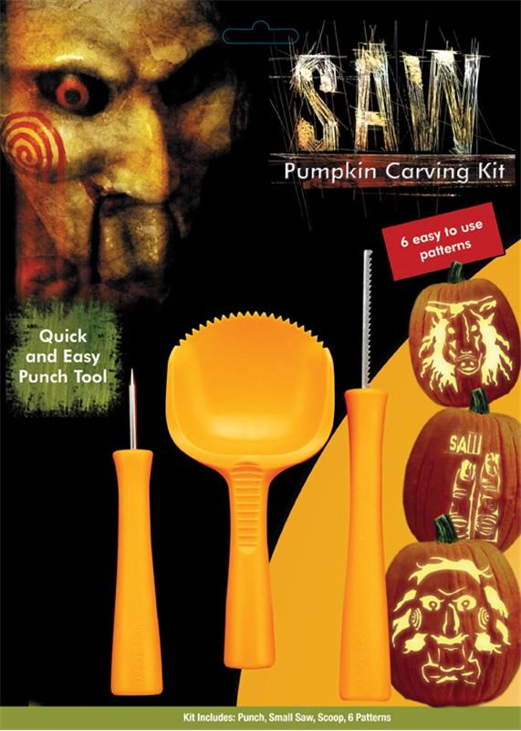 Saw Pumpkin Carving Kit