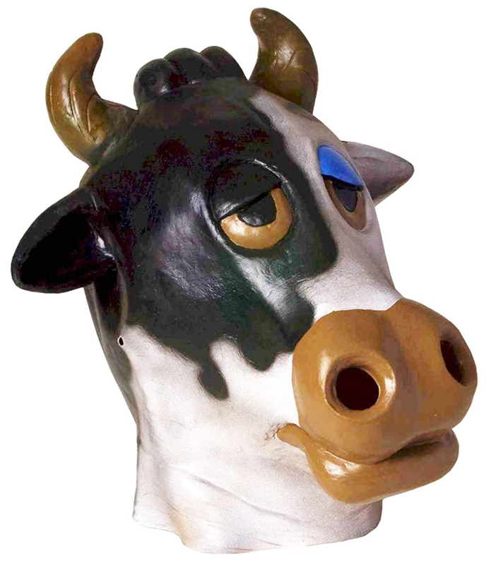 Deluxe Latex Cow Adult Mask by Forum Novelties