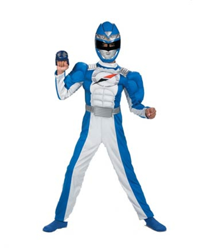 Power Rangers Overdrive Blue Child Costume