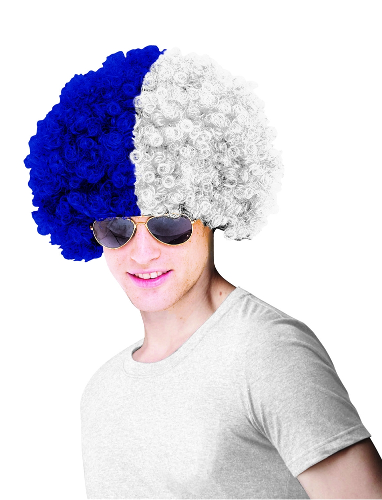 Los Angeles Dodgers Costume Wig Adult