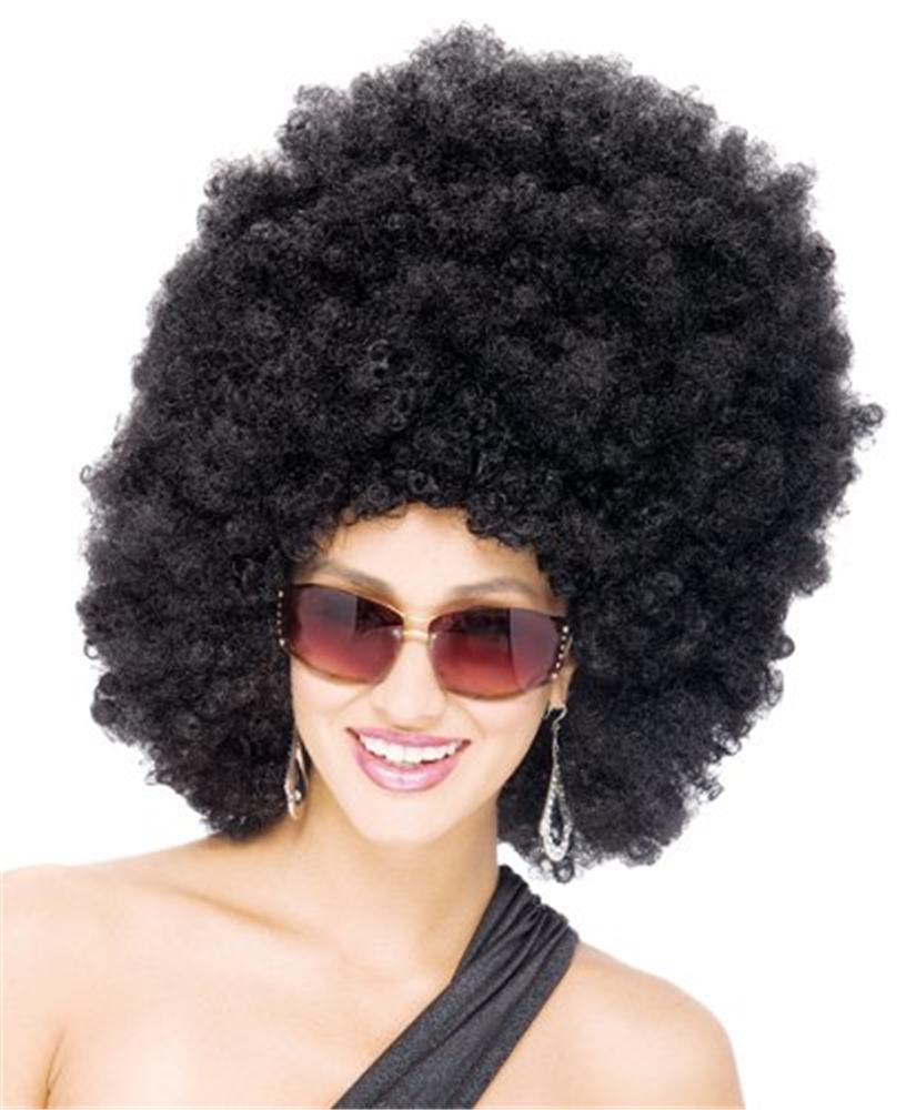 Extreme Black Afro Unisex Wig
