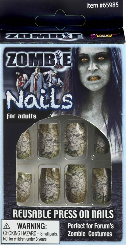 Zombie Fake Finger Nails