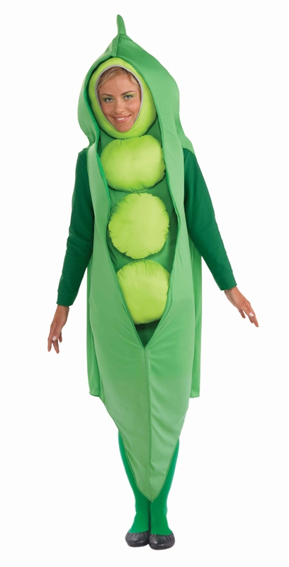 Pea Adult Costume